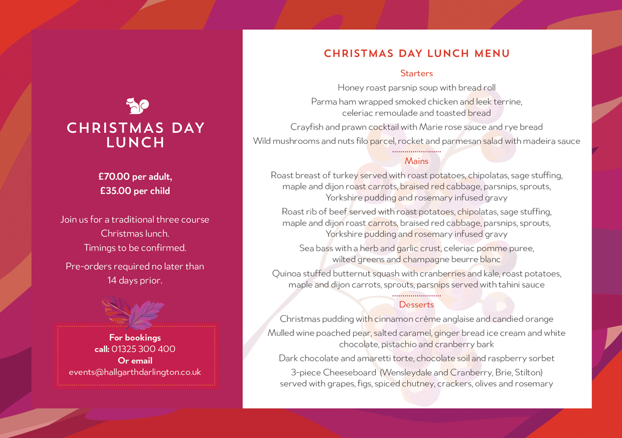 HG Christmas Day Lunch 2